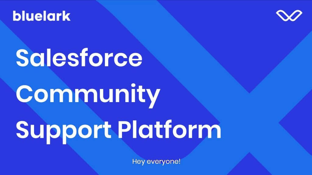 Community Cloud is an online social platform that enables companies to connect with customers.